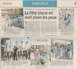 La Fête Bleue 2009 (cours de violon école de musique)